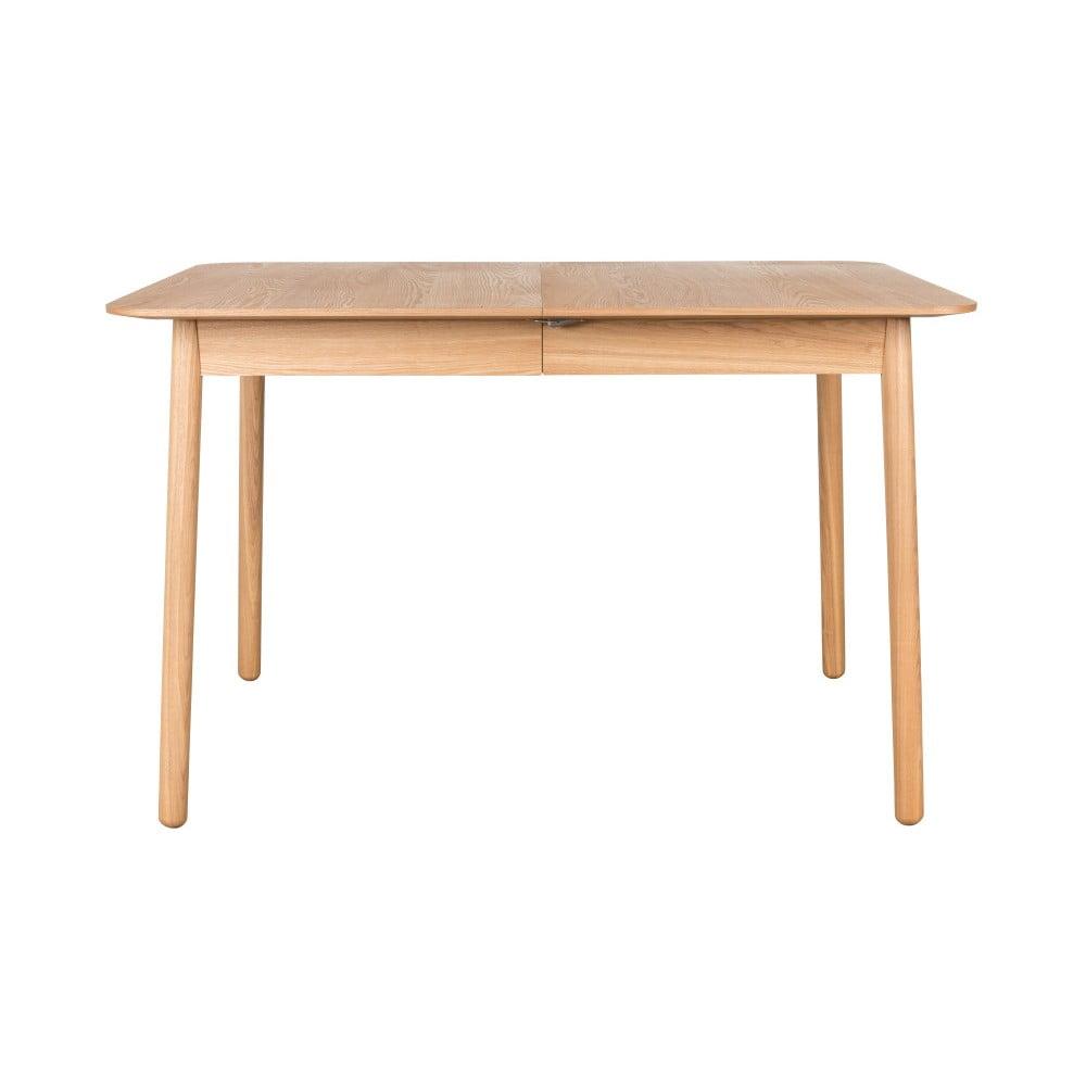 Rozkladací jedálenský stôl Zuiver Glimpse, 120 × 80 cm
