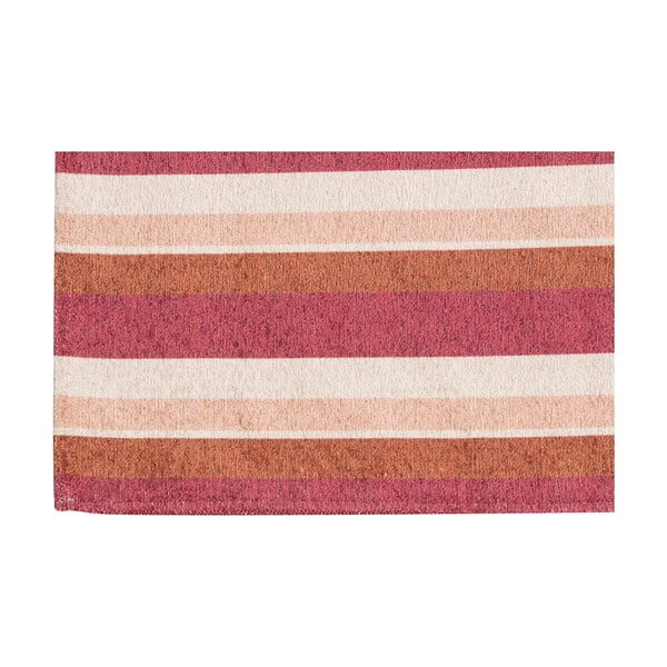 Vysokoodolný kuchynský koberec Stripes Multi, 60x220 cm