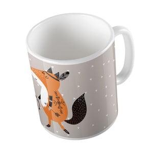 Hrnček Mr. Little Fox Be Brave, 330ml