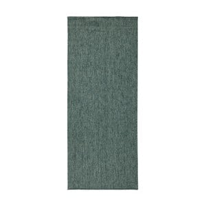Tmavozelený obojstranný koberec Bougari Miami, 80×150 cm