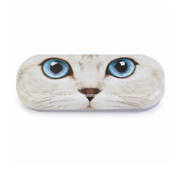 Puzdro na okuliare Silver Kitty