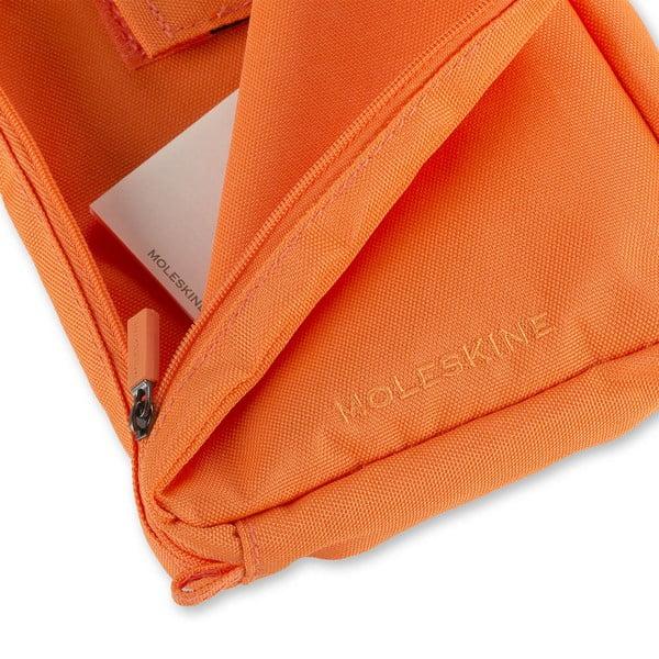 Univerzálna kapsička Moleskine 23x17 cm, oranžová