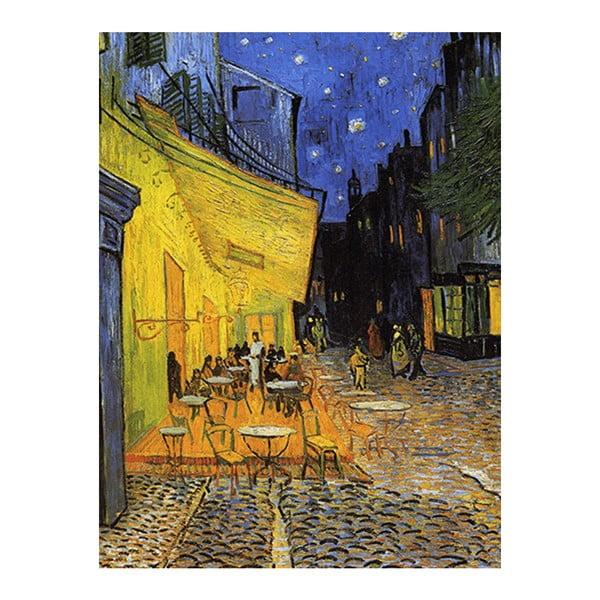 Reprodukcia obrazu Vincenta van Gogha - Cafe Terrace, 60×45cm
