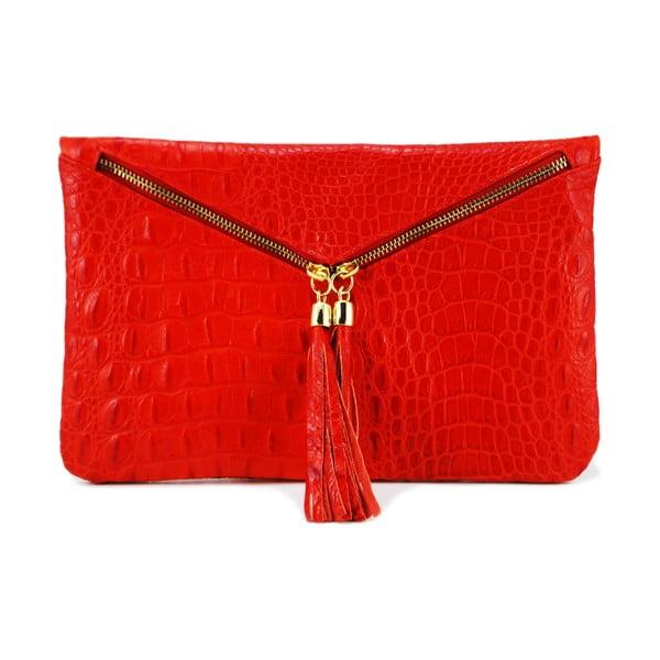 Kožená kabelka Coco Red