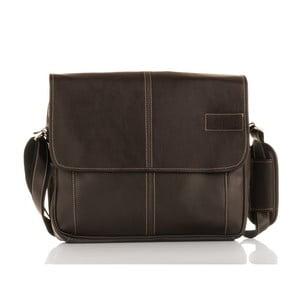 Pánska taška Solier S15, hnedá