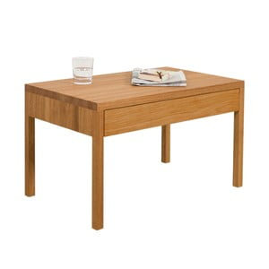 Nočný stolík z dubového dreva Ellenberger design Alex
