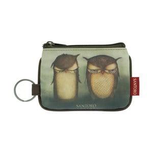 Kľúčenka Santoro London Grumpy Owl