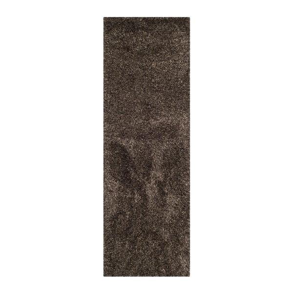 Koberec Crosby Brown, 68x213 cm