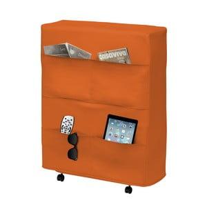 Oranžová skladacia posteľ 13Casa Brenda