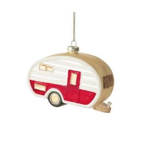 Vianočná závesná ozdoba zo skla Butlers Karavan