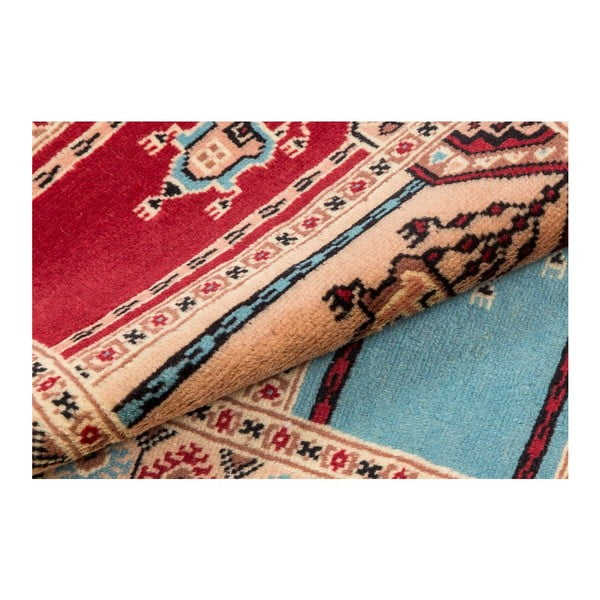 Ručne viazaný koberec Kashmir 108, 95x62 cm