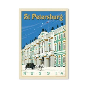 Plagát Americanflat St. Petersburg, 42 x 30 cm