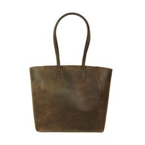 Kožená kabelka Jazzy Jess, hnedá