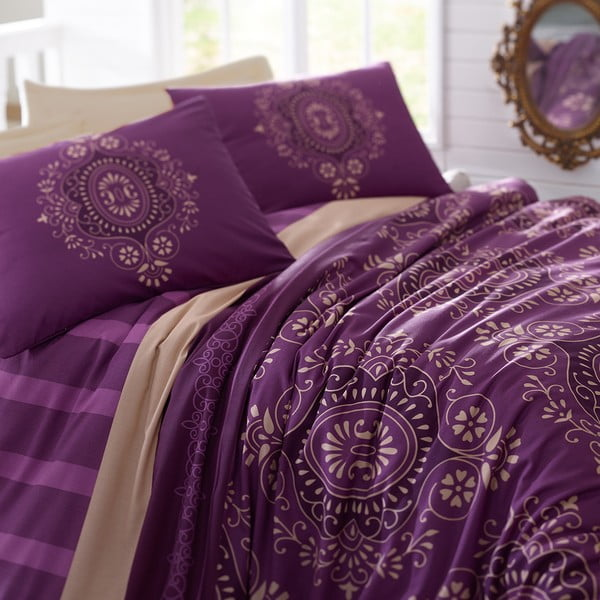 Obliečky s plachtou Ottoman Purple, 200x220cm
