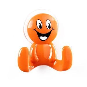 Oranžový háčik v tvare panáčika Unimasa Happy