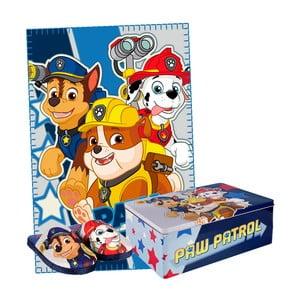 Set detských papúč a prikrývky v plechovej škatuli InnovaGoods, veľkosť 30 - 31