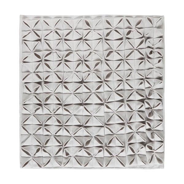 Kúpeľňová predložka Origami 60x60 cm, šedá