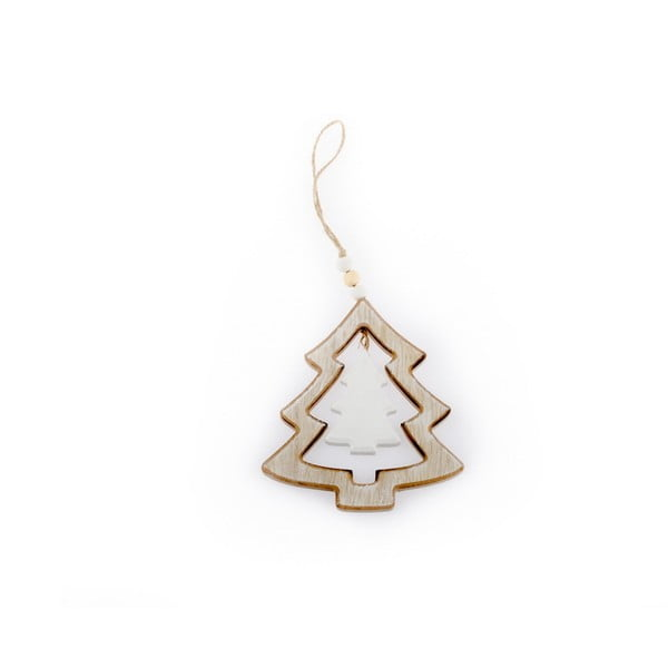 Závesné vianočné dekorácie v tvare stromčeka Dakls Beatrice