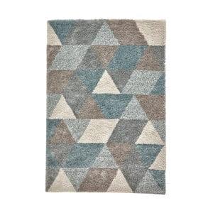 Sivo-modrý koberec Think Rugs Royal Nomadic Grey &Teal, 160×220 cm