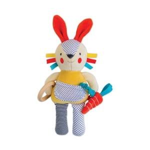 Hračka podporujúca rozvoj poznávacích vlastností Petit collage Bunny