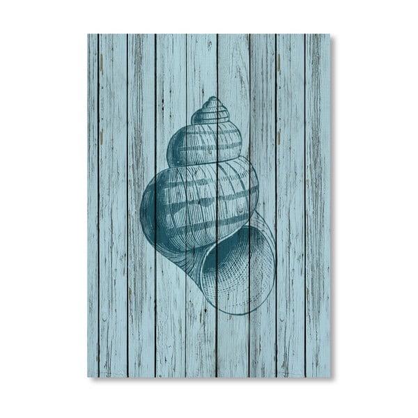 Plagát Wood Shell