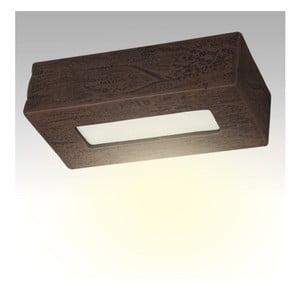 Stropné keramické svetlo Cegla, wenge