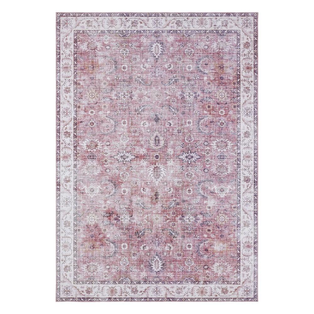 Svetločervený koberec Nouristan Vivana, 120 x 160 cm