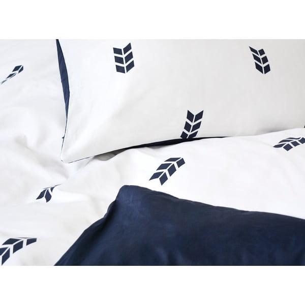 Biele obliečky Hawke & Thorn Finch Straw, 240 x 220 cm + vankúš 50 x 60 cm