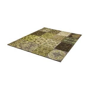 Svetlozelený koberec z bavlny Cotex Colorado, 120 × 180 cm