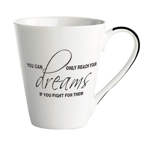 Porcelánový hrnček KJ Collection Dreams, 300ml