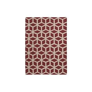 Koberec Flat, 80x150 cm, červený