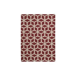 Koberec Hongkong Red Beige, 120x170 cm