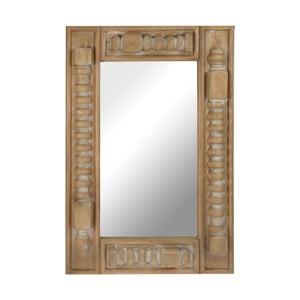 Drevené zrkadlo Shapes, 58x85 cm