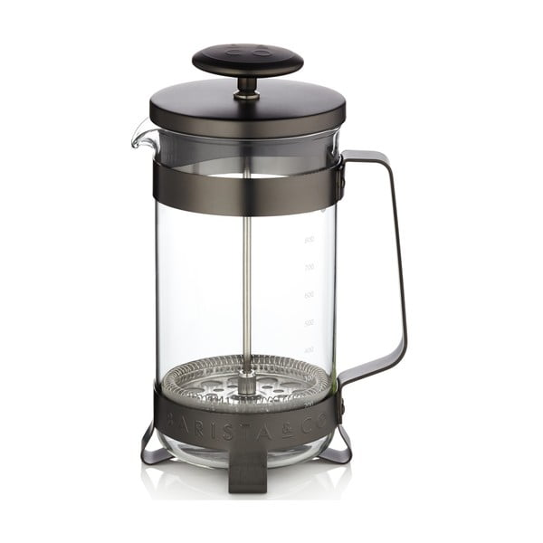 French press Barista 1 l, čierny