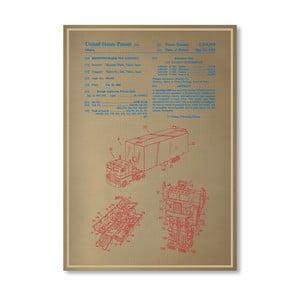 Plagát Optimus Prime, 30x42 cm
