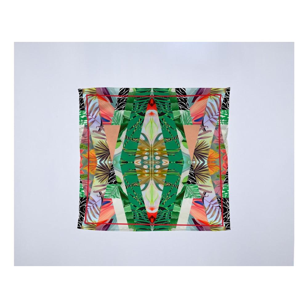 Módna šatka Madre Selva Kaleidoscopic, 55 × 55 cm