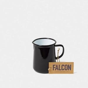 Čierny smaltovaný džbán Falcon Enamelware OnePint, 586 ml