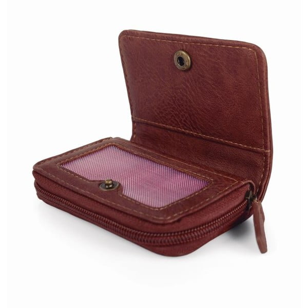 Ružovo-modrá peňaženka SKPA-T, 10,5 x 7 cm