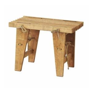 Lavička z dreva brezy EcoFurn, dĺžka 60 cm