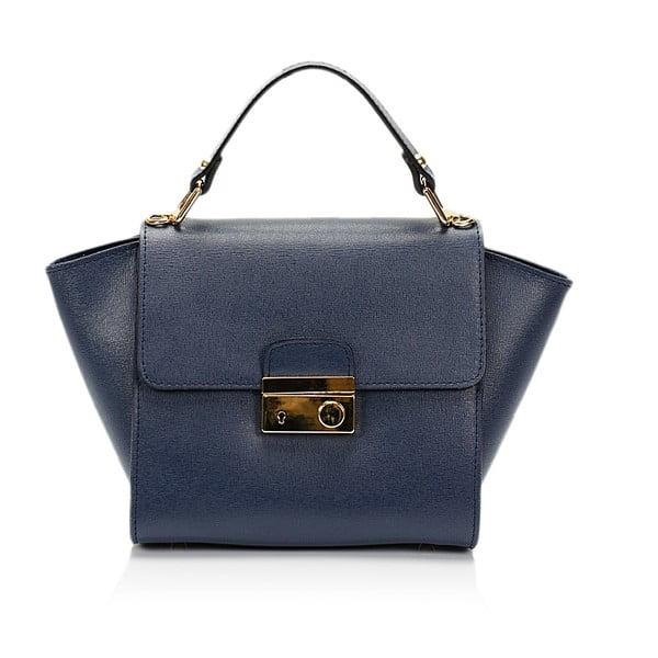 Modrá kožená kabelka Lisa Minardi Alice