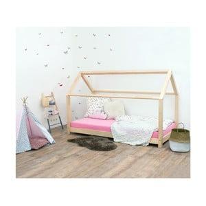 Prírodná detská posteľ zo smrekového dreva Benlemi Tery, 120×180 cm