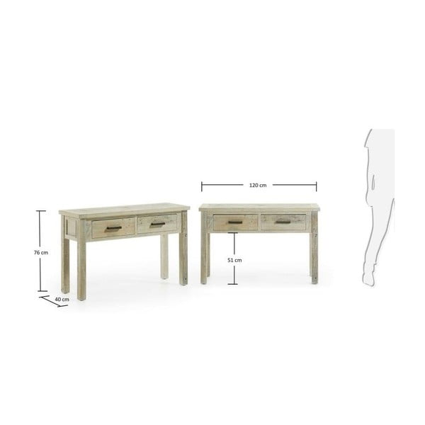 Konzolový stôl Skyh