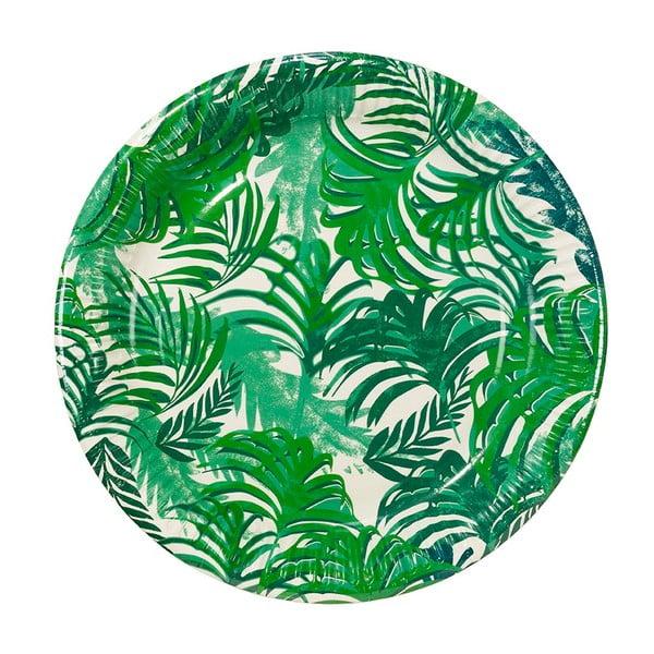 Sada 12 papierových tanierov Talking Tables Fiesta Tropico