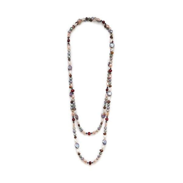 Farebný perlový náhrdelník GemSeller Baroque