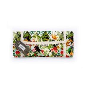 Pikniková deka Surdic Manta Picnic Tropical Patchwork, 170x140cm