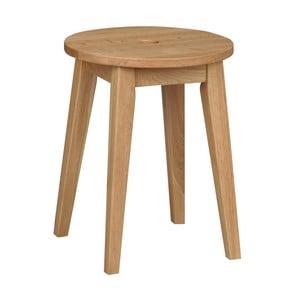 Prírodná dubová stolička Rowico Gorgona, výška 44 cm