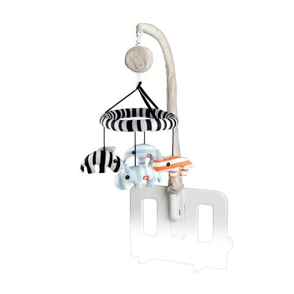 Hudobný 3D Zoopreme kolotoč, modrý