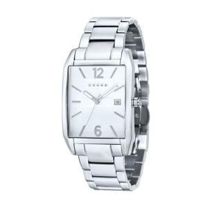 Pánske hodinky Cross Gotham Silver White, 33x38 mm