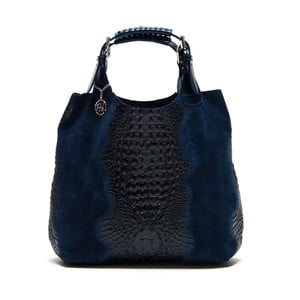 Kožená kabelka Italia 820 Blue