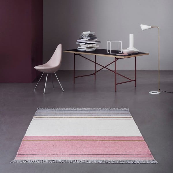 Vlnený koberec Linie Design Metallum Powder, 200x300 cm